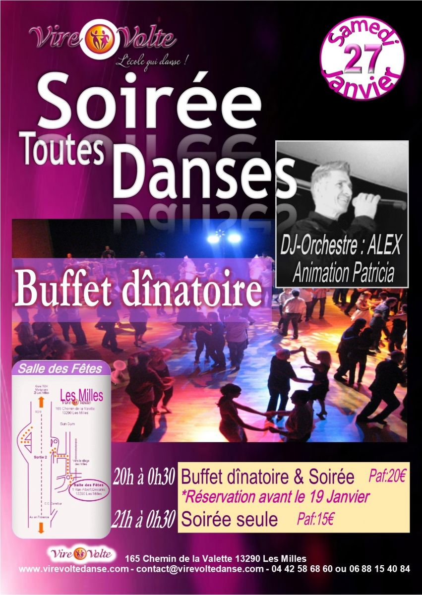 Grande soir e rock salsa et toutes danses de salon avec repas et orchestre aix en provence - Toutes les danses de salon ...