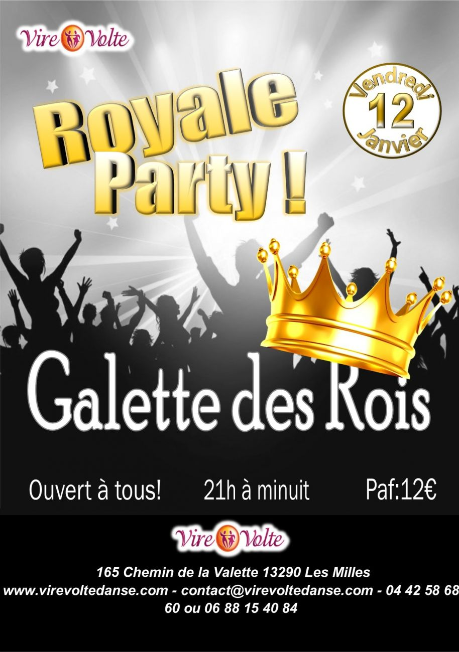 Soir e royale rock salsa danses de salon et galette des for Danse salon de provence